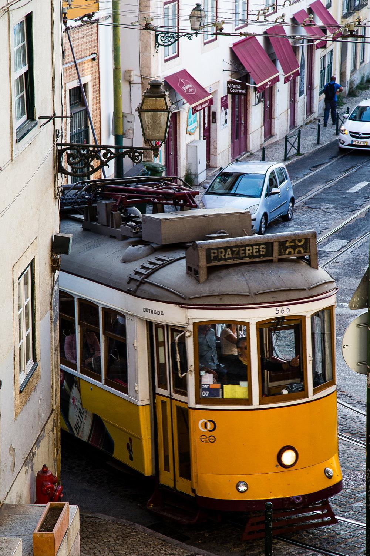Lisbon Tram Portugal