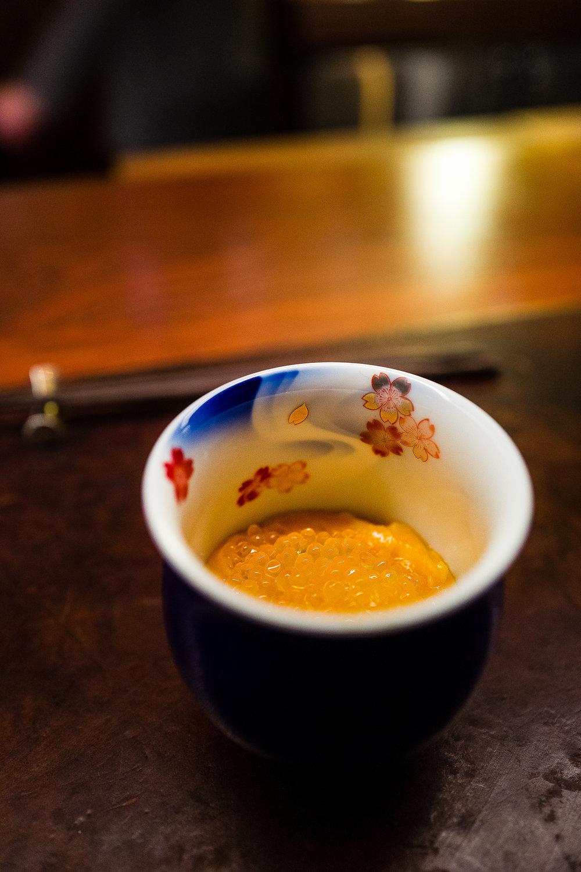 Jidori Chicken Egg, Golden Trout Roe