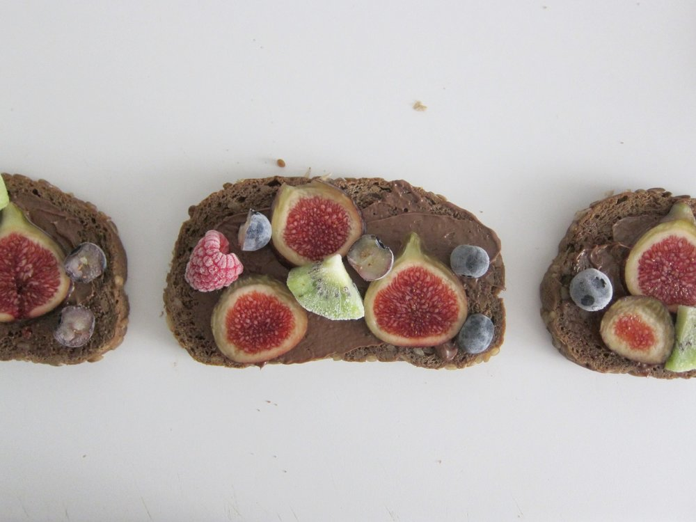 Sándwich de Higo y Chocolate / Fig and Chocolate Sandwich