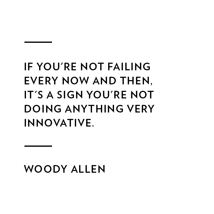 Woody Allen on Failure