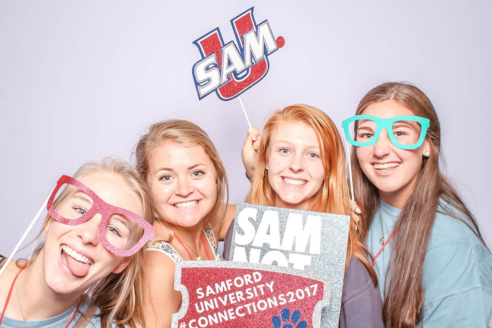 Samford University Photo Booth Student Events and Activities Birmingham Alabama