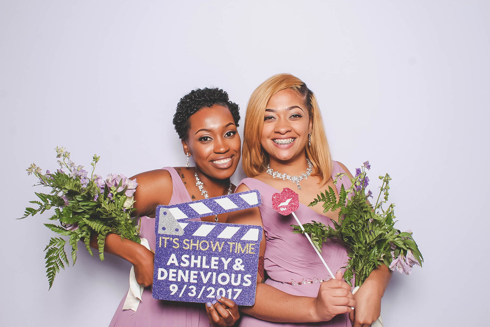 Ashley and Denevious Wedding Photo Booth FlashBar Birmingham Alabama