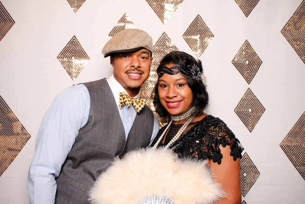 UAB Harlem in the Ham MHRC Young Professionals Photo Booth FlashBar Birmingham Alabama Harbert Center