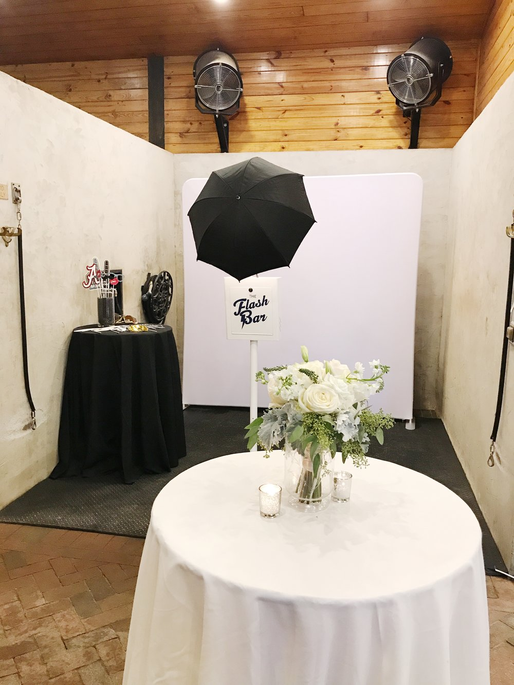 Birmingham Alabama wedding photo booth custom props windwood equestrian