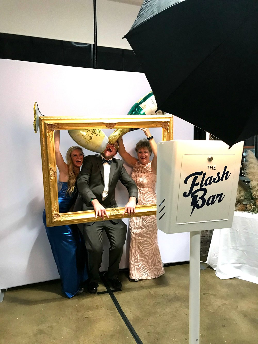 Birmingham Alabama wedding photo booth custom props events at haven downtown birmingham