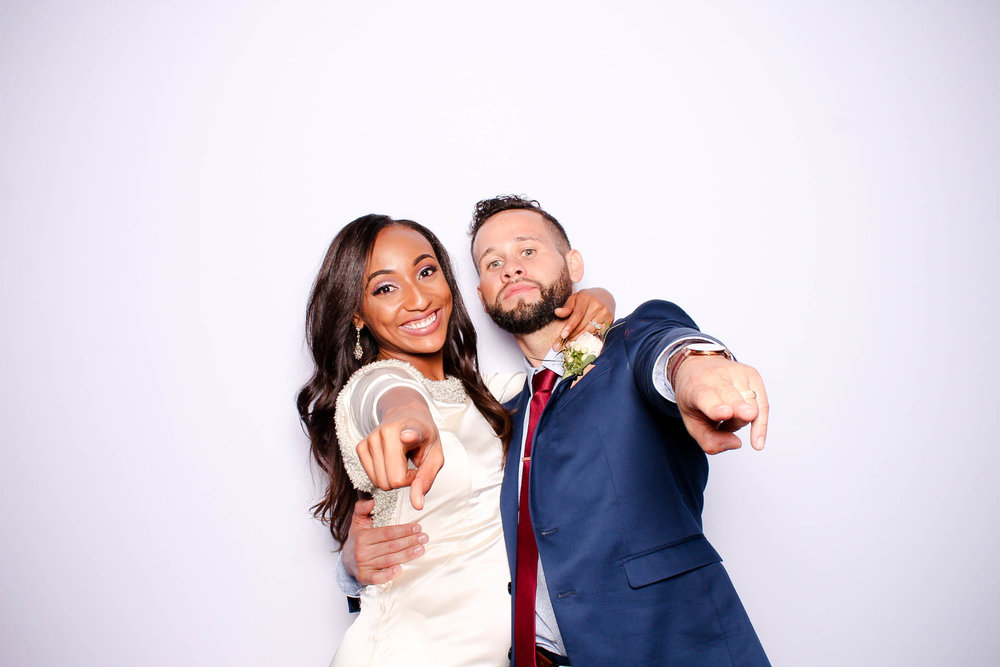 Birmingham Alabama wedding photo booth custom props events at Haven