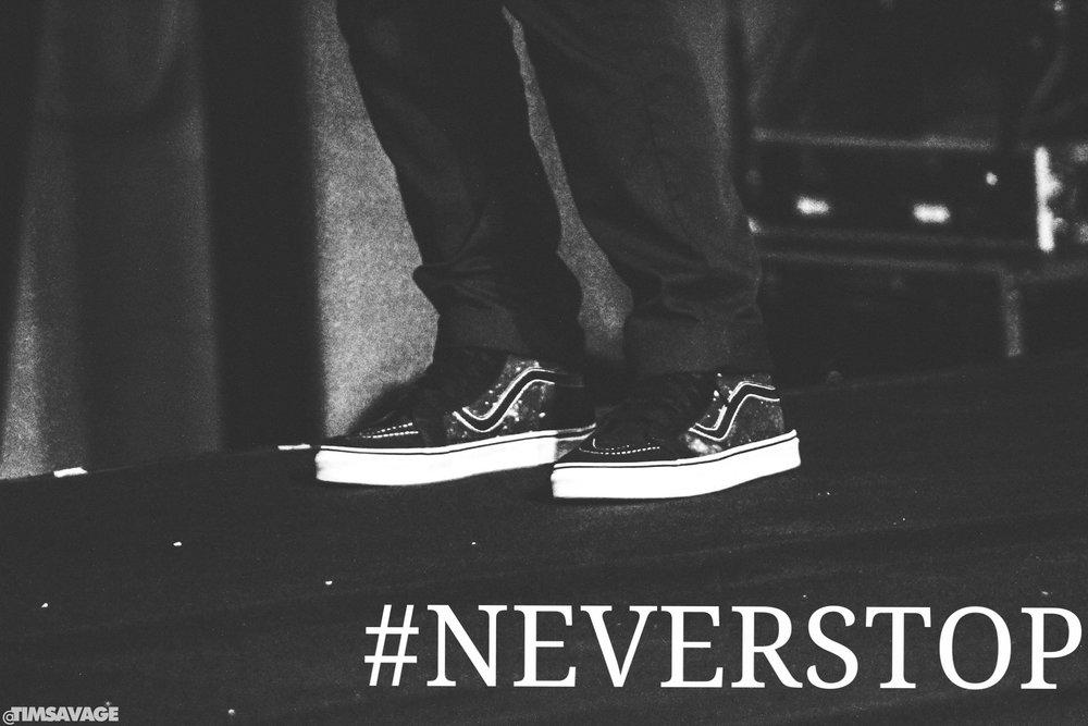 #NEVERSTOP