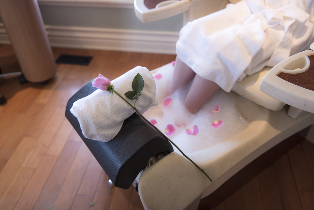 rosehaven spa pedicure