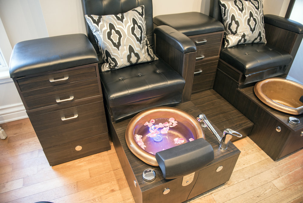 Rosehaven spa pedicure chairs