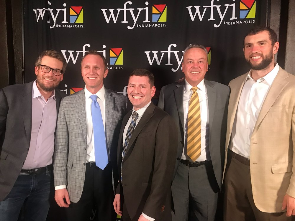 At Fi3, we are active supporters of community organizations. We recently sponsored  WFYI's Listen Up event , featuring Indianapolis Colts quarterback Andrew Luck and award-winning author John Green.
