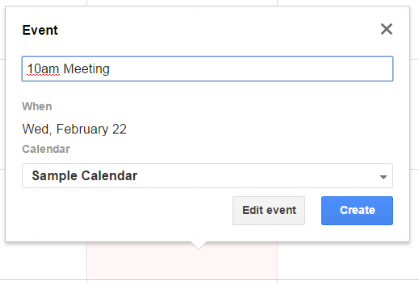 Set Notifications For Google Calendar