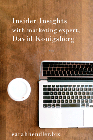 Insider Insights with Marketing Expert David Konigsberg of Optimal Targeting