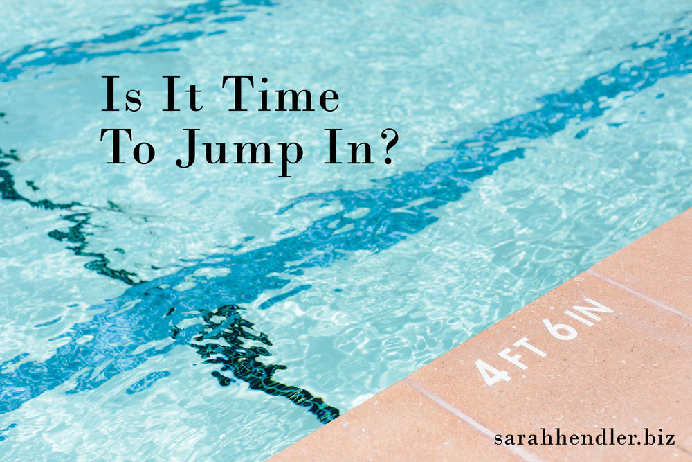 Is it time to jump in? Business Risk