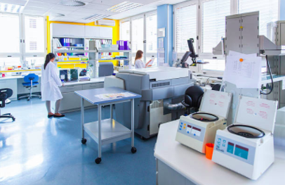 Fully loaded laboratory ready for service. - CHROMATOGRAPHY:HPLC-DAD-PDA,GC-MSSPECTROSCOPY:ICP-oES,UV/VIS, Plate Reader, Access to NMR, TEM, XRD, AND DSC.DEVELOPMENT:FREEZE DRYER, KARL FISHER, VISCOMETER (LOW VOLUME/LOW VISCOSITY), OSMOMETER, AND CONE RHEOMETER