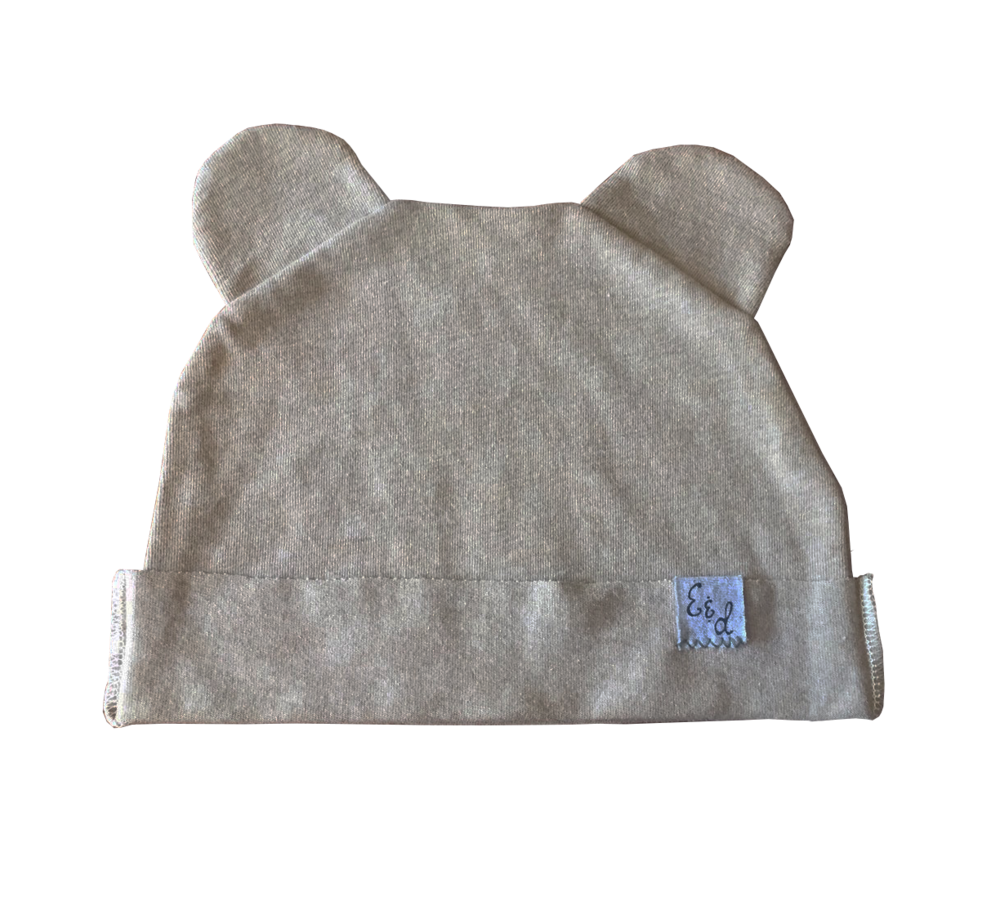 Fold Over Bear Beanie