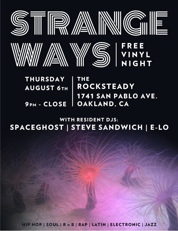 Strange Ways vinyl night