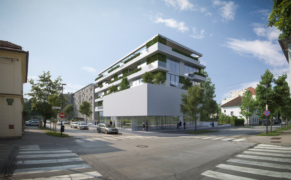 new architectural materials application for residential building