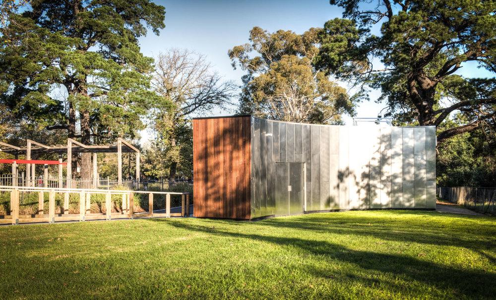 Alma Park Reserve Pavilion Buildings