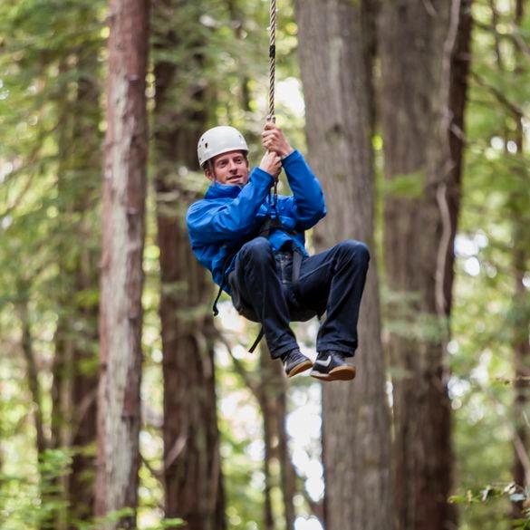 Cliffhanger Zipline