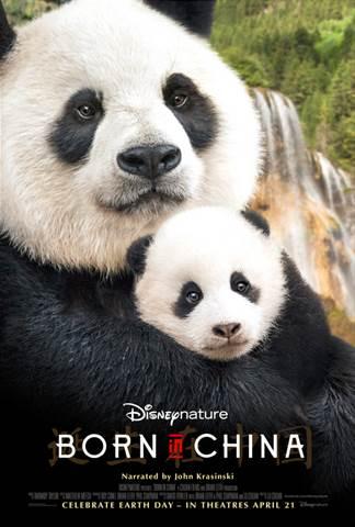 April 21, 2017 BORN IN CHINA (Disneynature) #BornInChina