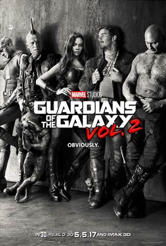 May 5, 2017 GUARDIANS OF THE GALAXY VOL. 2 (Marvel Studios) #GotGVol2
