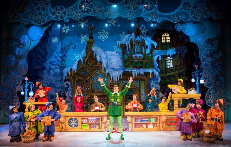 ELF The Musical - 2016 ELF Touring Company - Photo by Jeremy Daniel