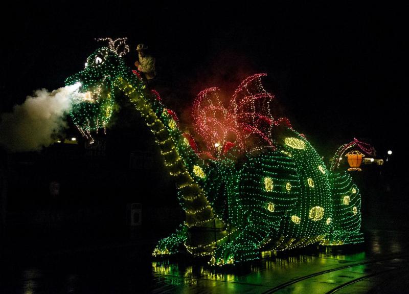 Main Street Electrical Parade, Photo by Scott Brinegar/Disneyland