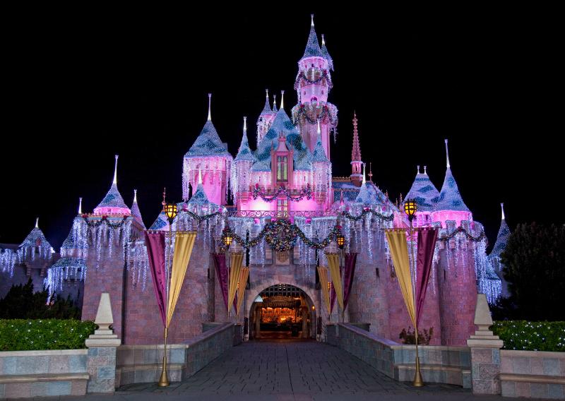 Sleeping Beauty Castle, Photo by Paul Hiffmeyer/Disneyland Resort