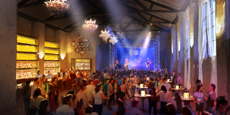 New House of Blues Anaheim The Parish Renderings