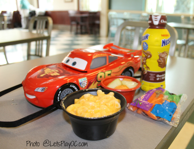 Kid's Meal at Flo's V8 Cafe in Cars Land at Disney California Adventure Park