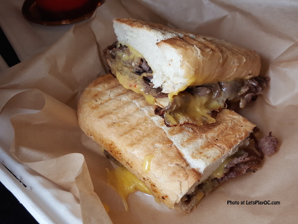 Cheesesteak Panini at Ben's Bakery