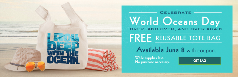 Free Reusable Tote Bag Rubio's Roll Deep With Ocean World Oceans Day.png