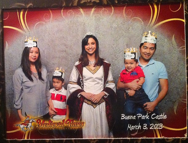 Medieval Times Photo Opportunity Family Photo at LetsPlayOC.jpg