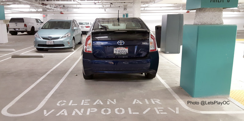 Toyota Prius Clean Air Parking Photo LetsPlayOC.jpg