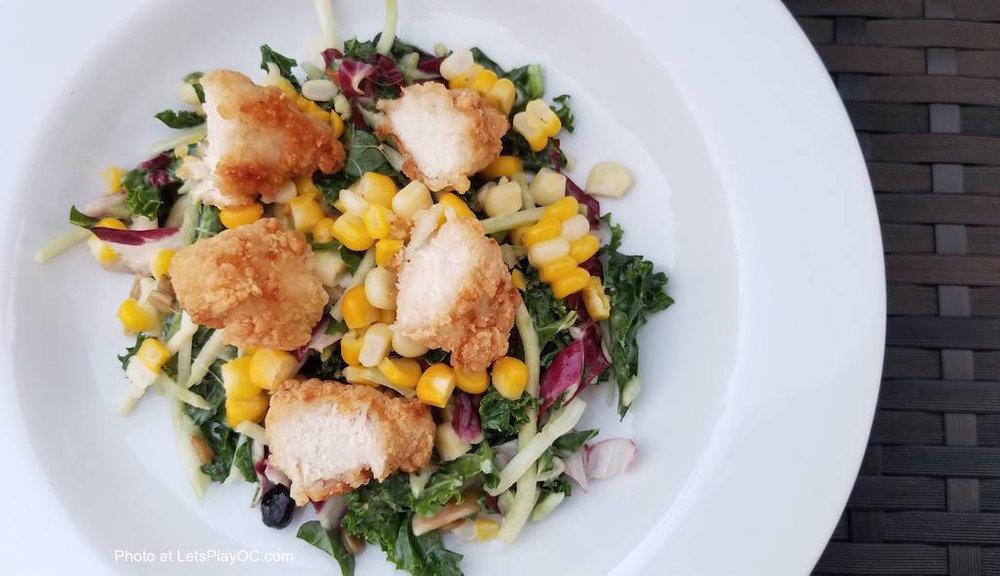 Foster Farms Orange Chicken Dinner Salad Photo at LetsPlayOC.jpg