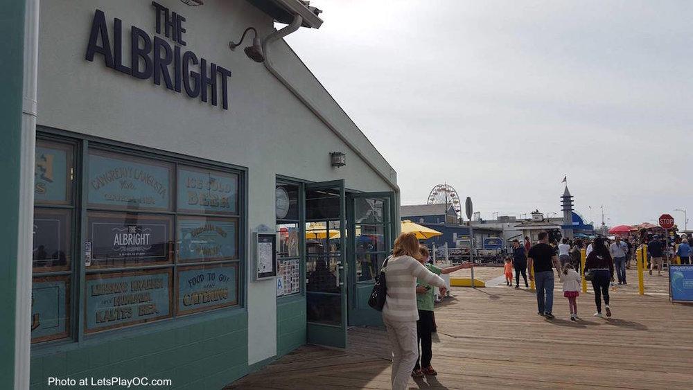 The Albright Seafood Restaurant Santa Monica Pier Exterior Photo at LetsPlayOC.jpg