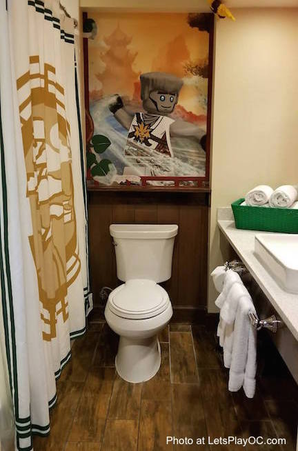 LEGOLAND CALIFORNIA HOTEL Ninjago Bathroom Photo at LetsPlayOC.jpg