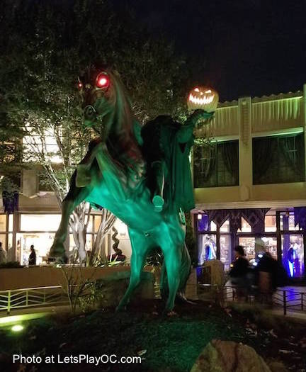 Disney California Adventure Headless Horseman Halloween time Photo at LetsPlayOC.jpg