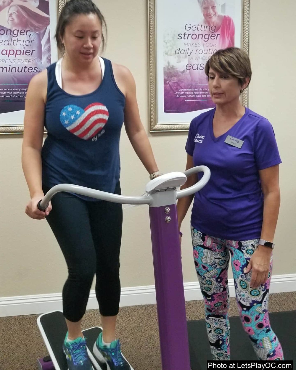 Curves Women Fitness Heartrate Machine Photo at LetsPlayOC.jpg