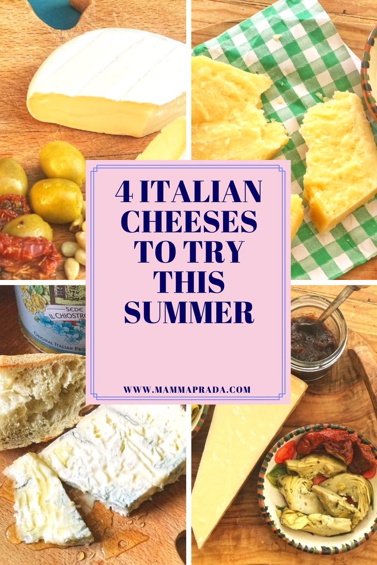 Mammaprada Italian Travel and Bilingual Parenting Blog | 4 Italian cheese to try this summer