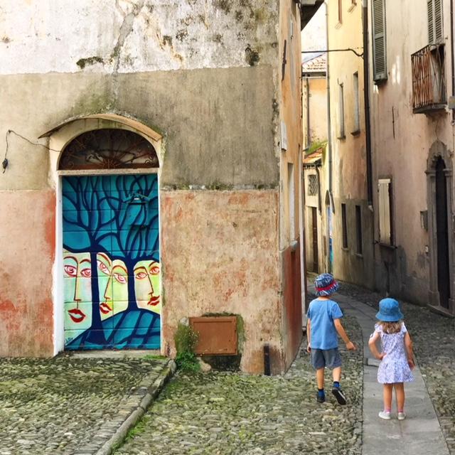 Mammaprada :: Traveling in Italy, Maccagno