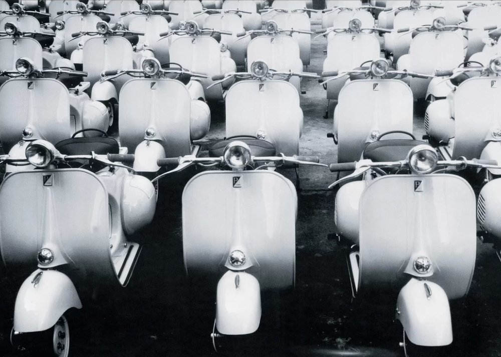 'Italian Design, La Vespa' by Echos Photographic Print