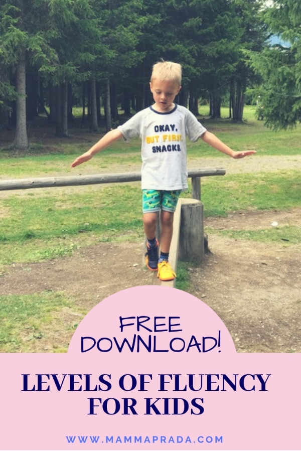 Mammaprada Italian Travel and Bilingual Parenting Blog   Levels of language fluency for kids