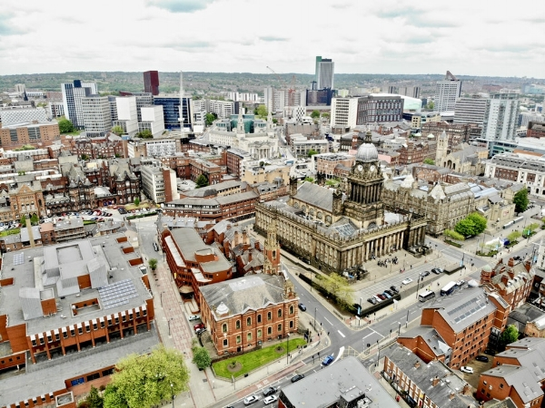 Leeds city view. Credit: Unsplash