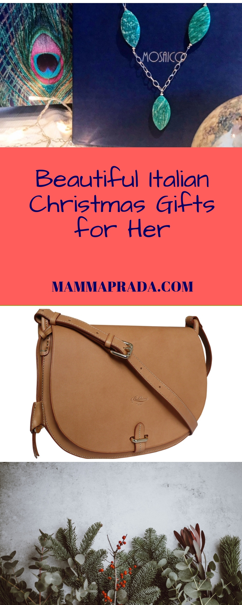 938ba167a046 Italian Christmas gifts for the Woman who loves a surprise!