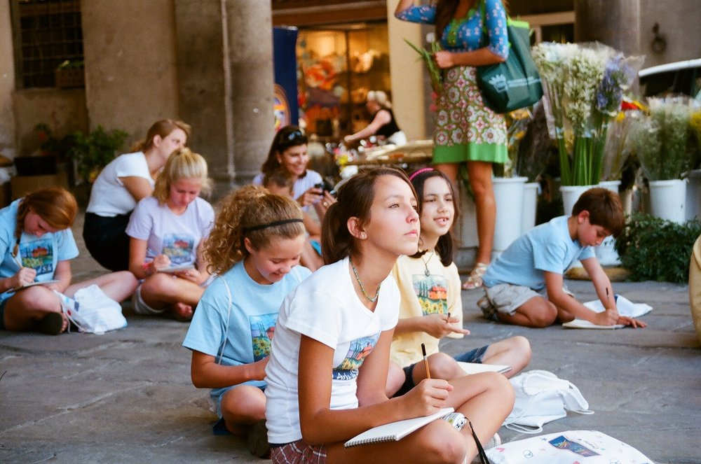 childcare in italy on vacation