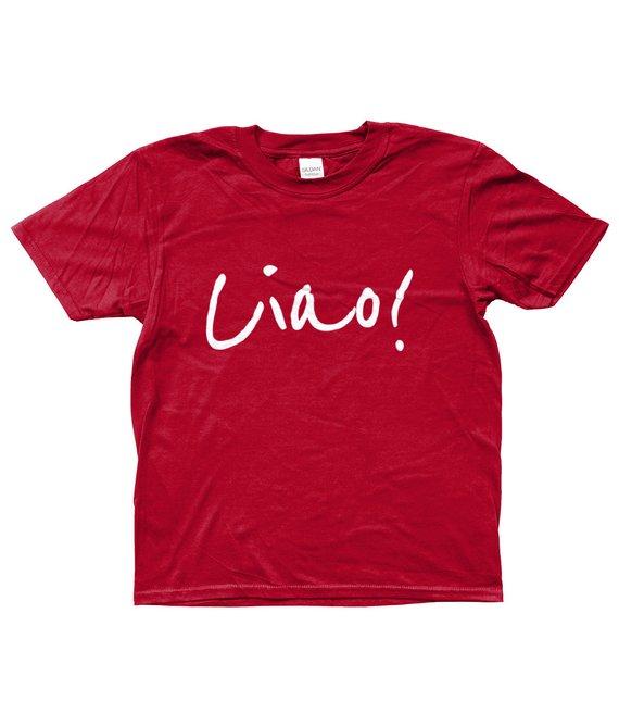 Mammaprada Italian Travel and Bilingual Parenting Blog | Shop multilingual T-shirts | Cultural T-shirts | Customization language T-shirts | Italian Ciao T-shirt | Ciao T-shirt
