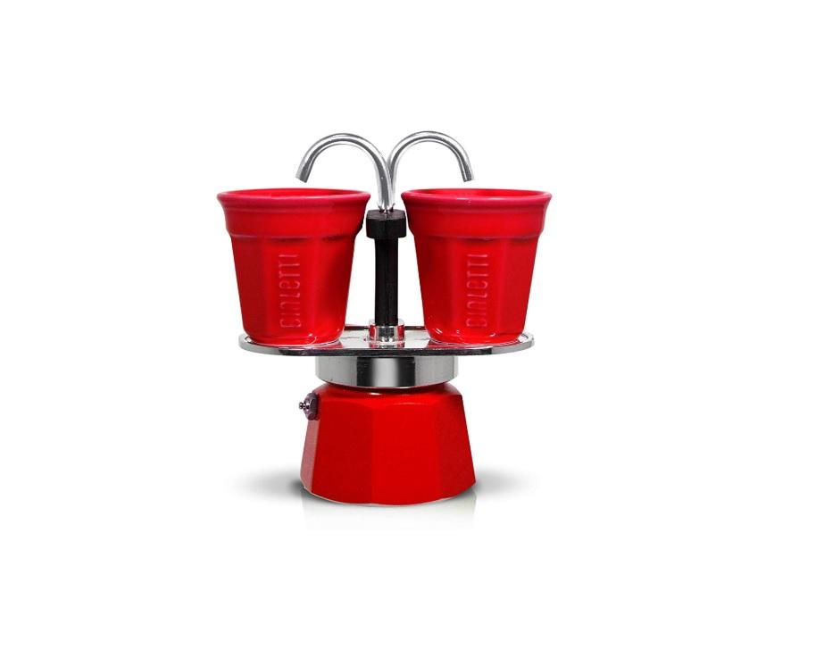 Bialetti Set Mini Express with 2 Espresso Cups