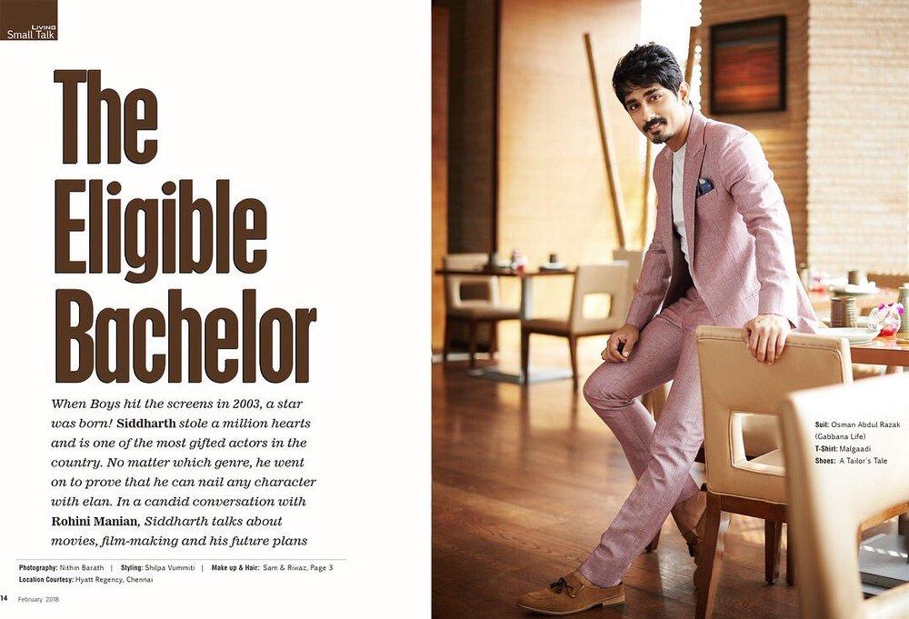 Actor Siddharth for Culturama Living_Feb 2018.jpg