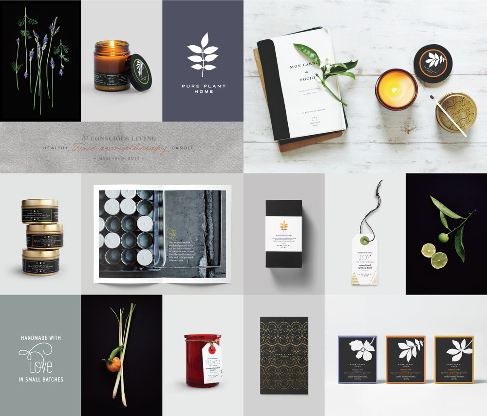 Peggy Wong Studio / branding design and photography for Pure Plant Home
